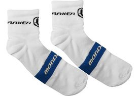 Mondraker Low socks White / Blue - Size S/M