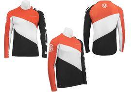 Mondraker Enduro jersey long sleeves Black / Orange 2017