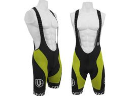 Mondraker Bib short Black and Lime