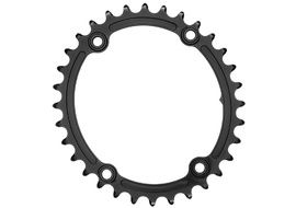 Absolute Black Premium Sub Compact Oval 110/4 Chainring - Black 2018