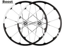 """Crank Brothers Cobalt 3 Black and White 29"""" Boost Wheelset 2018"""