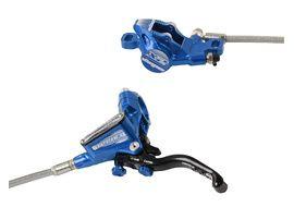 Hope Tech 3 X2 front disc brake Blue no rotor and adaptator 2020