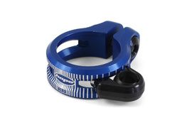 Hope Dropper Seat Clamp Blue 2020
