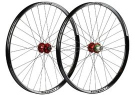 "Hope Tech 35W Pro 4 27,5"" Wheelset Red 2017"