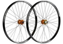 "Hope Tech 35W Pro 4 27,5"" Wheelset Orange 2019"