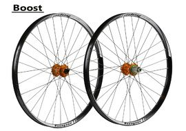 "Hope Tech 35W Pro 4 27,5"" Boost Wheelset Orange 2017"