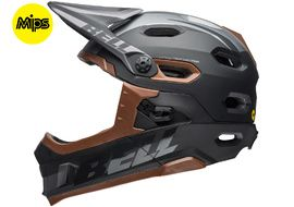 Bell Super DH MIPS helmet Black / Brown 2018