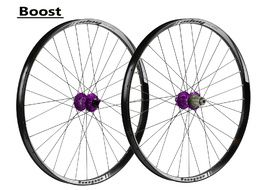 "Hope Tech 35W Pro 4 27,5"" Boost Wheelset Purple 2017"
