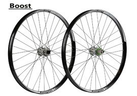 "Hope Tech 35W Pro 4 27,5"" Boost Wheelset Silver 2017"