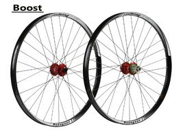 "Hope Tech 35W Pro 4 27,5"" Boost Wheelset Red 2017"