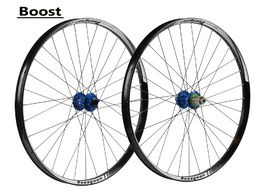 "Hope Tech 35W Pro 4 27,5"" Boost Wheelset Blue 2017"