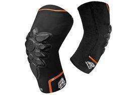 Racer Smart Skin Knee Guard Black
