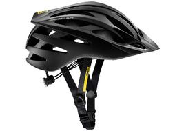 Mavic Crossride SL Elite Helmet Black and White 2018