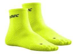 Mavic Cosmic Mid Socks Neon Yellow 2018