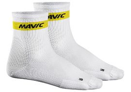 Mavic Cosmic Mid Socks White 2018