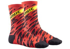 Mavic Deemax Pro High Sock Red 2018