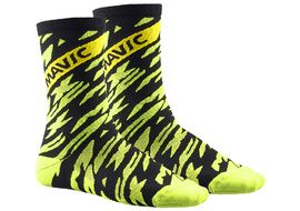 Mavic Deemax Pro High Sock Neon Yellow 2018