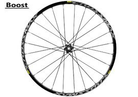 "Mavic Crossmax Elite rear wheel 27.5"" Boost Black 2018"