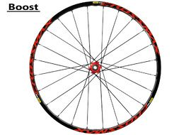 "Mavic Crossmax Elite rear wheel 27.5"" Boost Red 2018"