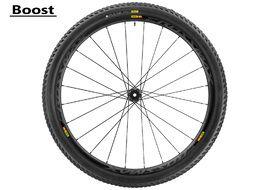 Mavic Crossmax Pro Carbon WTS front wheel 29'' Boost - 2.25 tire 2017