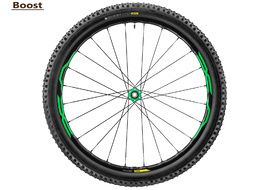 Mavic XA Elite WTS front wheel Green 27,5'' Boost - Tire 2.40 2017