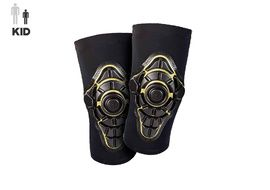 G-Form Youth Pro X Pads Knee Black / Yellow - Youth S/M