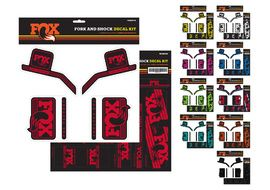 Fox Racing Shox Heritage Decal Sets