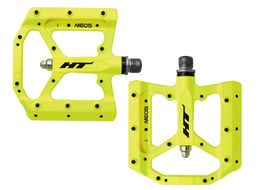 HT Components Evo ME05 Pedals Neon Yellow 2019