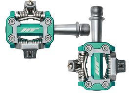 HT Components M1 Pedals Green Cyan 2019
