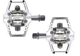 HT Components T1 Clipless Pedals Silver 2020