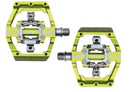 HT Components X2 Pedals Apple Green
