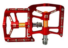 Ice Holeshot Pedals Red