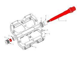 Reverse Components Axles set for Escape pedals