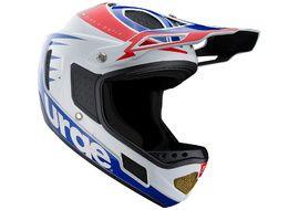 Urge Down-o-matic RR Helmet White-Red-Blue 2020