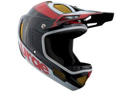 Urge Down-o-matic RR Helmet Black-Red-White 2020
