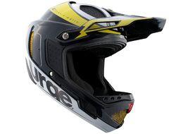 Urge Down-o-matic RR Helmet Black-Yellow 2020