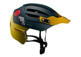 Urge Endur-o-matic 2 Helmet Blue / Yellow 2018