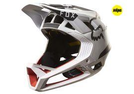 Fox Proframe Moth Helmet White / Red - Size L 2017