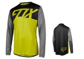 Fox Ranger long sleeves jersey Yellow / Black 2017