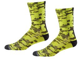 Fox Creo Trail 8'' socks Neon yellow 2018