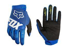 Fox Dirtpaw Race Gloves Blue 2018