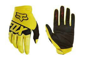 Fox Dirtpaw Race Gloves Yellow 2018