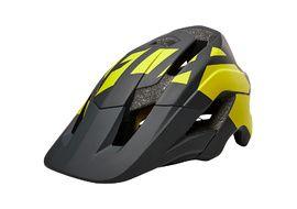 Fox Metah Tresh Helmet Black and Yellow 2018