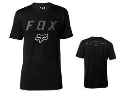 Fox Contended Tech Tee Shirt Sleeve Black 2018