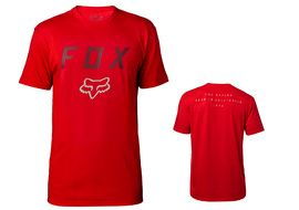 Fox Contended Tech Tee Shirt Sleeve Red 2018