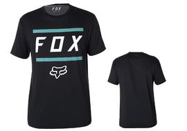 Fox Listless Airline Short Sleeve Tee Shirt - Black and Blue 2018