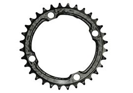 Race Face Narrow Wide 104 mm Single Chainring Black 2019