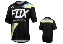Fox Demo Drafter Short Sleeve Jersey Black 2018