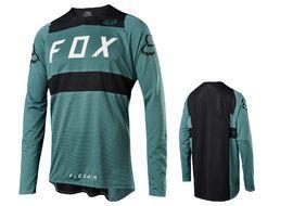 Fox Flexair Long Sleeve Jersey Green 2018