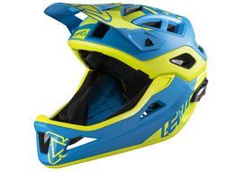 Leatt DBX 3.0 Enduro V1 Helmet Blue / Lime 2018